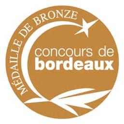 Médaille de Bronze au concours de Bordeaux
